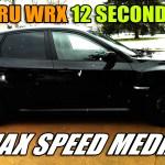 Subaru WRX 12 Second Pass