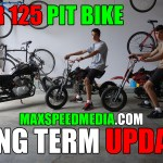 SSR 125 Pit Bike Long Term Update