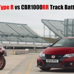 Honda Civic Type R vs CBR1000R
