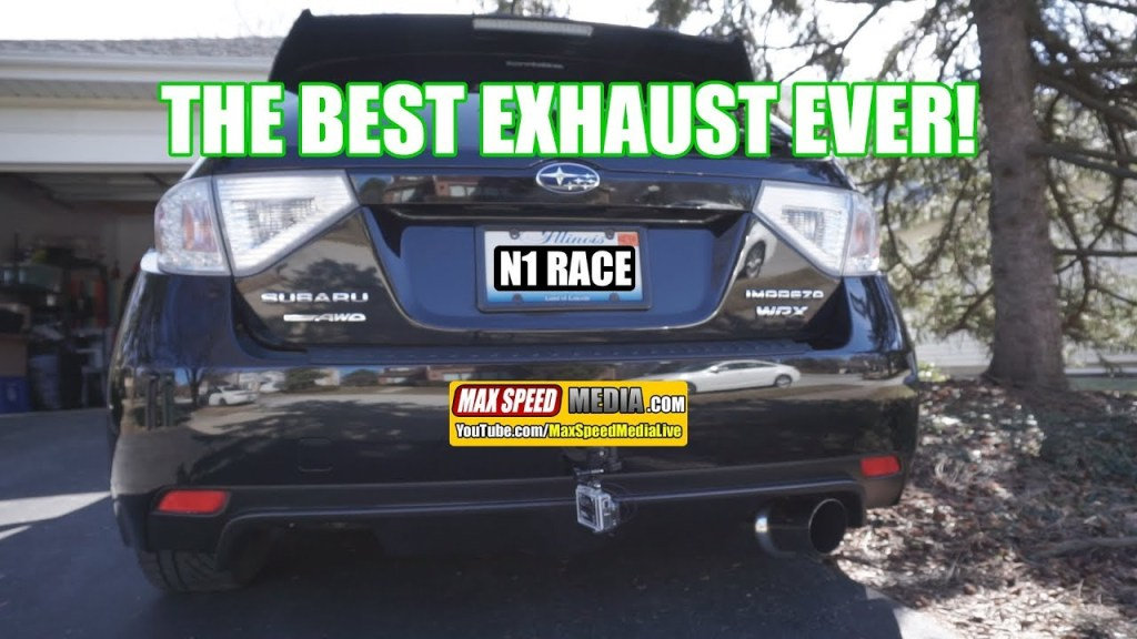 THE BEST EXHAUST EVER! Subaru WRX Invidia N1 Racing Exhaust