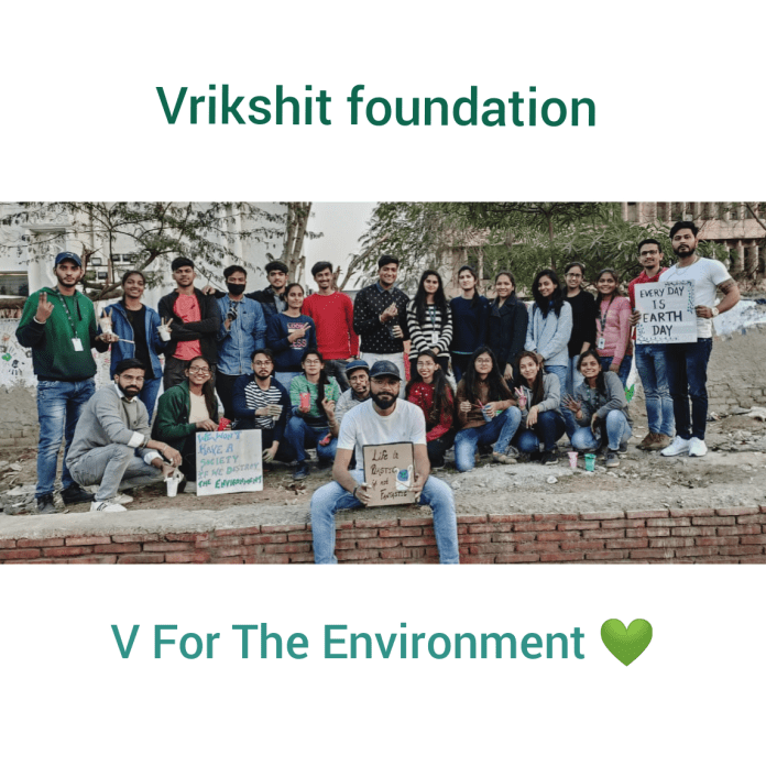 Youth Stands For Cleaner Nation, United as Vrikshit Foundation