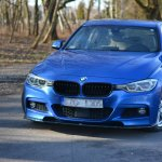 Front Splitter Bmw 3 Series F30 Fl Sedan M Sport Textured Our Offer Bmw Seria 3 F30 Fl Maxton Design