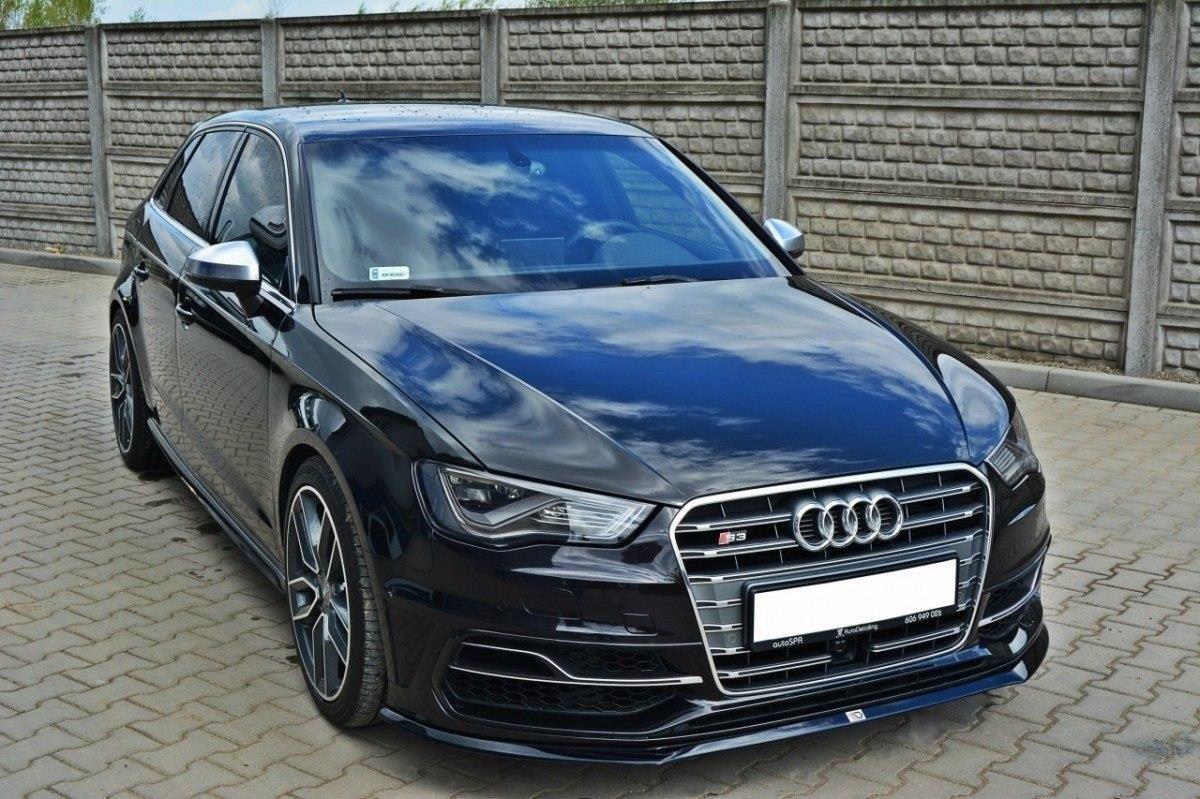 Front Splitter Audi S3 / A3 S-Line 8v Hatchback / Sportback   Our Offer \\ Audi \\ A3 / S3 / RS3 \\ A3 S-Line \\ 8V [2013-2016] \\ Hatchback Our Offer ...