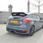 Rear Side Splitters Ford Focus St Mk3 Fl Gloss Black Our Offer Ford Focus St Mk3 Fl 2015 2018 Maxton Design
