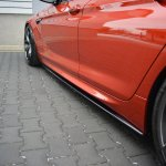 Side Skirts Diffusers Bmw M6 Gran Coupe Textured Our Offer Bmw Seria M6 F06 Maxton Design