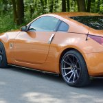 Side Skirts Diffusers Nissan 350z Textured Our Offer Nissan 350z Maxton Design