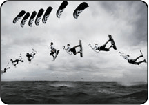 Flysurfer Psycho 4 sequence shot of Lennart