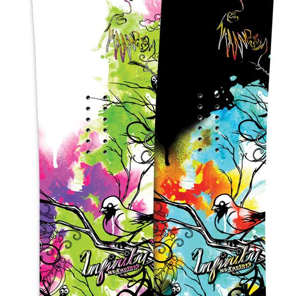 09/10 Never Summer Snowboards now online!