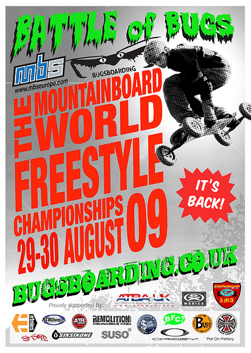 MBS Europe sponsor Mountainboard World Freestyle Championships