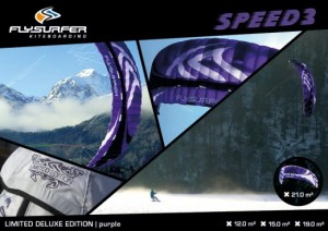 Flysurfer Launch Limited Edition Purple Speed 3