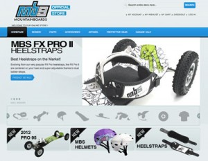 New MBS Mountainboards Online Store Launched