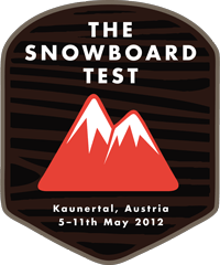 Never Summer Snowboards at the Snowboard Test 2012