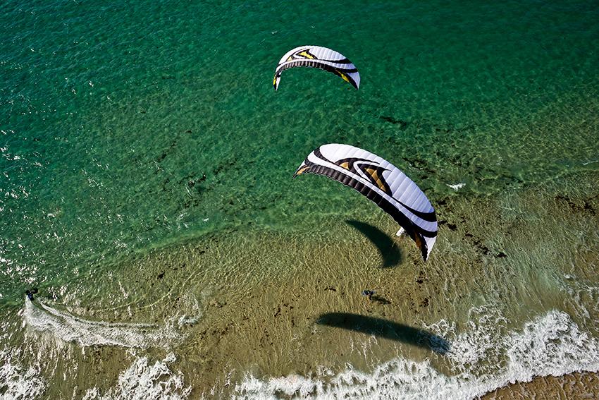 Flysurfer launch Speed 4 Lotus