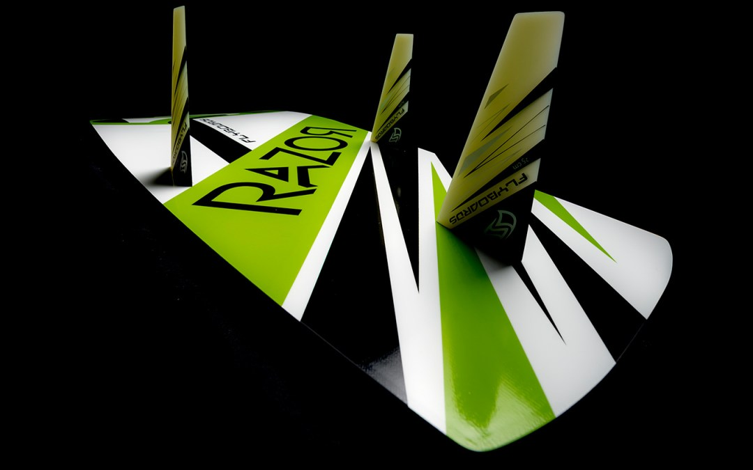 Flysurfer launch the Razor – directional freeride kitesurf board