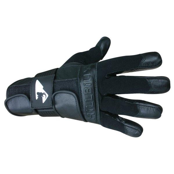 Hillbilly Wrist Guard Glove Full Finger Black