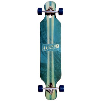 40008 Atom 39 Inch Drop-Through Longboard Artisan Blue