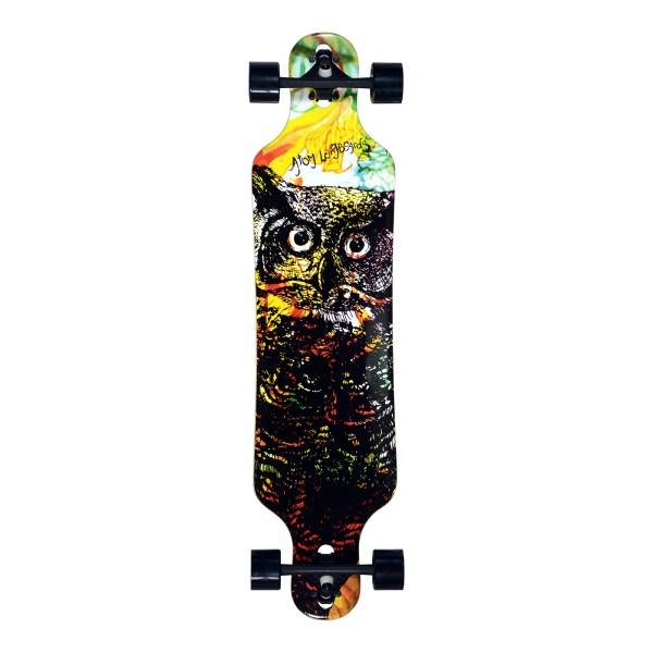 40017 – Atom Drop Through Longboard – 40 Inch (Owl)