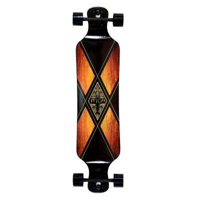40024 - Atom Drop Deck Longboard - 39 Inch (Woody X)