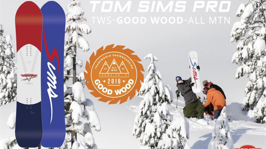 Tom SIMS Pro Good Wood Award