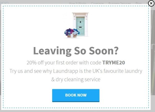 13 simple and surprisingly effective exit intent popup examples pump it up even a bit more fandeluxe Image collections