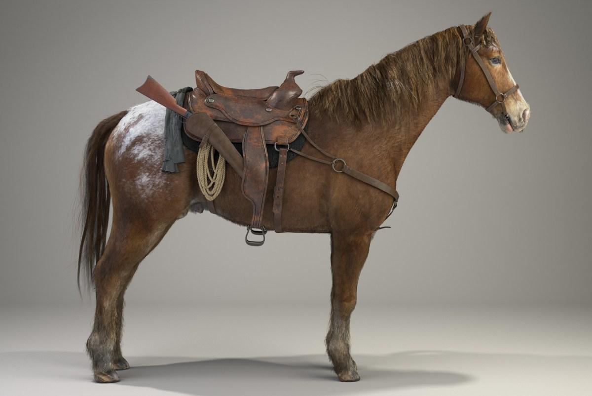 Horse Render Maxwell David de las casas