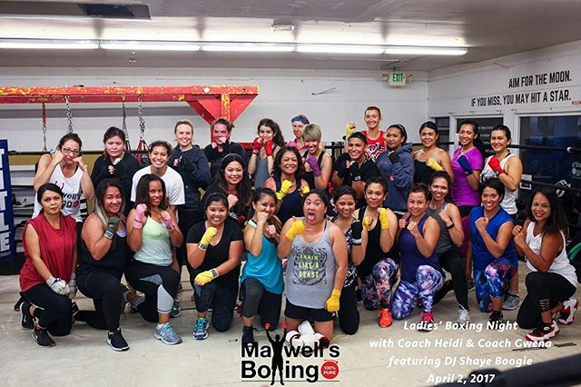Throwback to our 1st ever Ladies' Night at Maxwell's Boxing 📸We're so excited for this Sat 9/23Ladies' Night 5.0 @ 6:30pmCome see why this event is always full of smiles and good memories! Buy tickets via link in our bioOR in person at Maxwell's 🥊...#ladiesnight5 #maxwellsboxing #boxing #gno #sandiego #whattodo #satnight