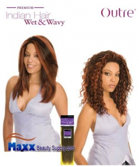 outre premium indian hair weave wet wavy human hair loose curl 12 41 99