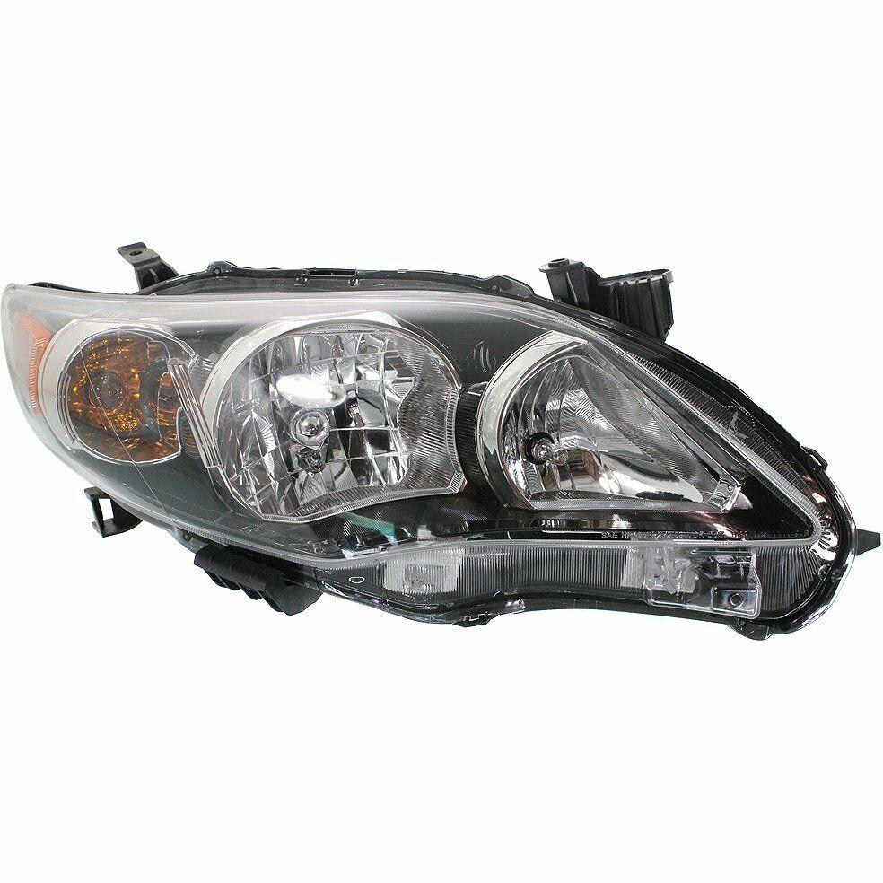 hight resolution of 2013 2013 toyota corolla 1 8l headlight assembly