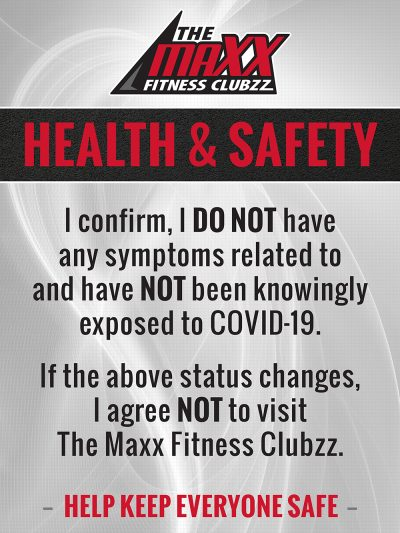 Maxx Fitness Saucon Valley : fitness, saucon, valley, Member, Safety, COVID, Update, Fitness, Clubzz