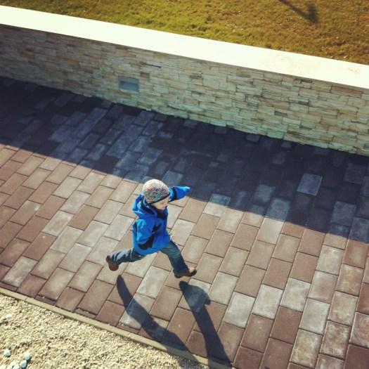 My son on the run