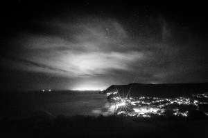 Bald Hill - Winter Night