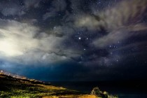 Clouds in the Way – astrophotography