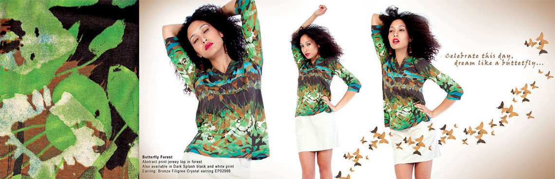 Butterfly Jungle Maya May Collection