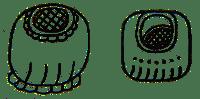 Mayan glyph for rain