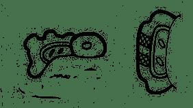 Maya glyph for green