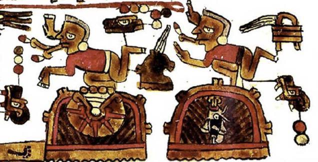 Figure 1 Codex Selden Page 7 Band III