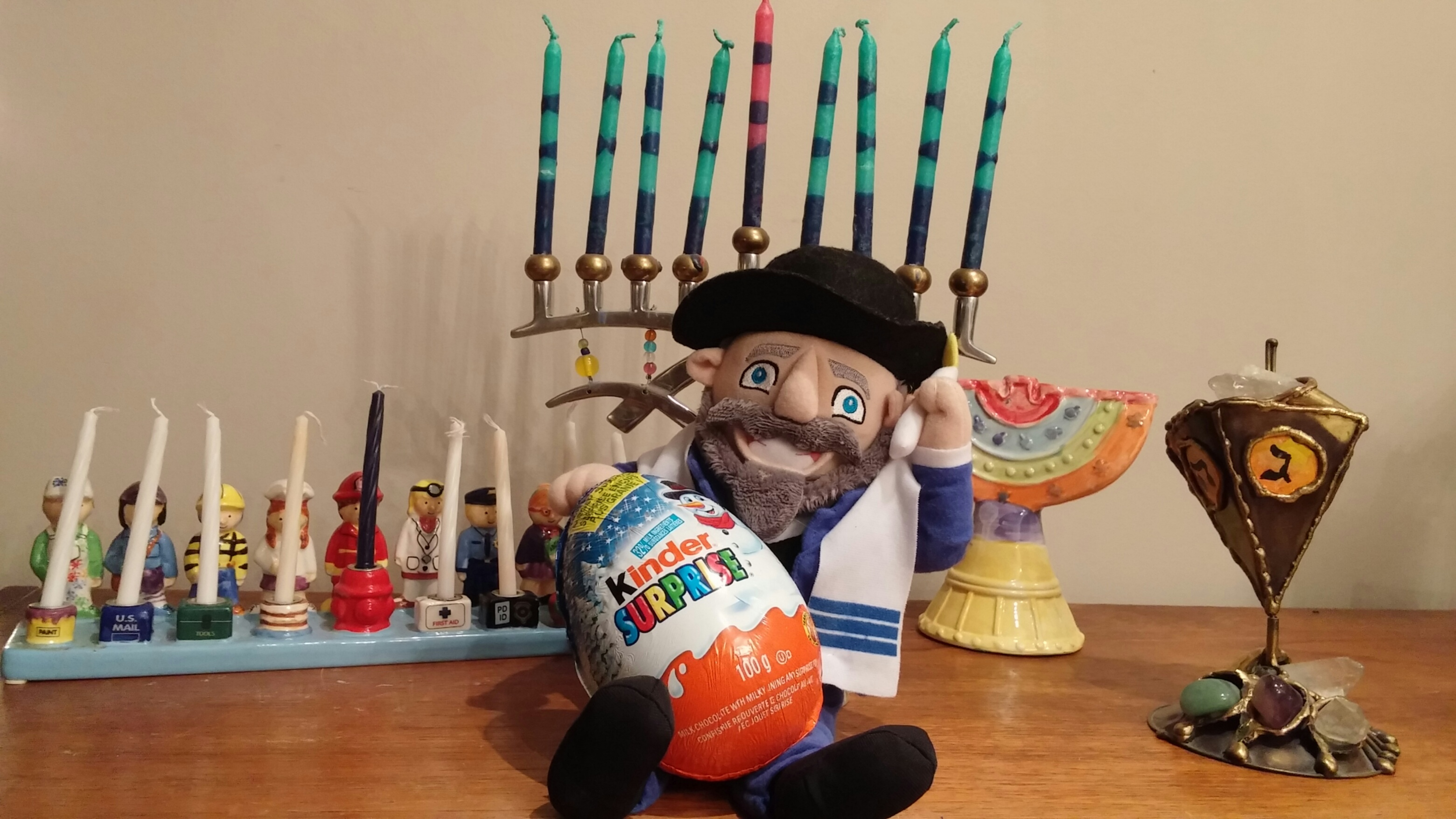 Celebrating Hanukkah and traditions