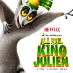 All Hail King Julien, a hilarious new family show on Netflix & some holiday favourites
