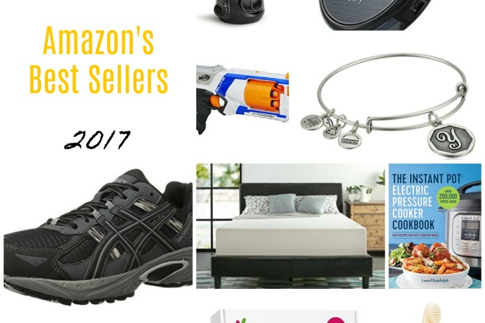 Amazon's top sellers for everyone in the family & a $50 Amazon GC Giveaway!