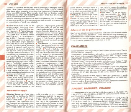 Laos Le Routard Infos Generales 03