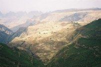 Simien 9 Bwahit col panorama plateau Arkwasiye puis sona