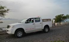 CaboVerde2013-A-12 Tarrafal Aluguer colectivo a Porto Novo