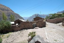 Peru-Canyon Cotahuasi Cotahuasi entree
