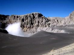 Peru volcan ubinas caldeira