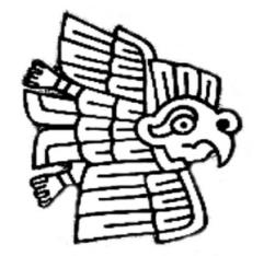 El Aguila Harpia en el Obelisco Tello