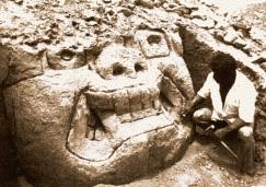 figura 01 Cabeza gigante de Huaca de los Reyes