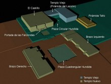 figura 02 Templo Chavin de Huantar en 3D