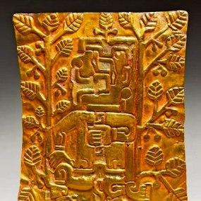 figura 29 Oro Plaque pectorale
