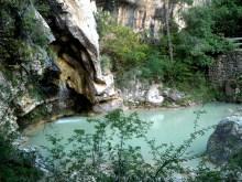 2014-07-12 Ruta dels Refugis (133) Gorguet cascade
