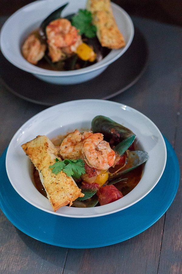 Easy Italian Seafood Soup